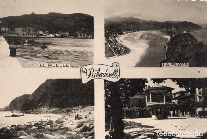 RIBADESELLA. VISTAS (Postales - España - Asturias Moderna (desde 1.940))