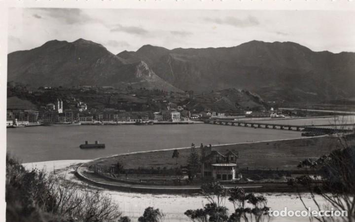 RIBADESELLA. PANORÁMICA DEL PUERTO. HEVIA (Postales - España - Asturias Moderna (desde 1.940))