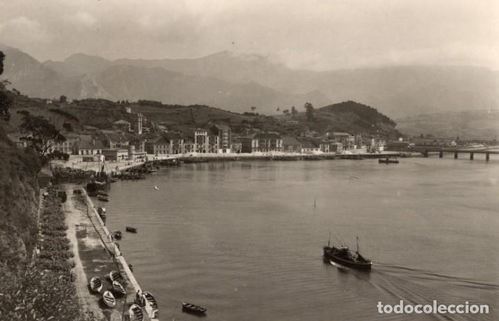 RIBADESELLA. EL PUERTO. ALARDE (Postales - España - Asturias Moderna (desde 1.940))