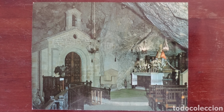 POSTAL CAPILLA DE LA CUEVA ASTURIAS (Postales - España - Asturias Moderna (desde 1.940))