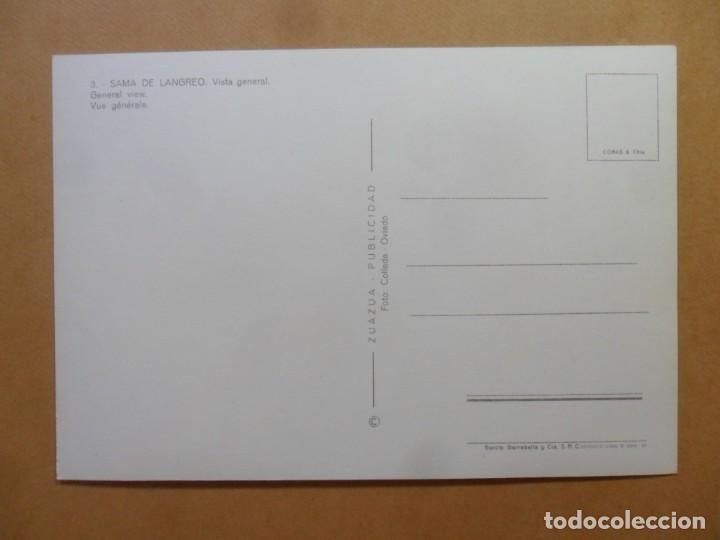Postales: POSTAL - 3 - SAMA DE LANGREO - VISTA GENERAL - ED. ZUAZA PUBLICIDAD - Foto 2 - 168087940