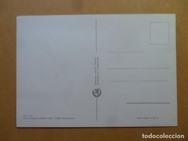 Postales: POSTAL - 1.118 - RUTA DESFILADERO DEL CARES (PONCEBOS) - ED. ALCE - Foto 2 - 168089976