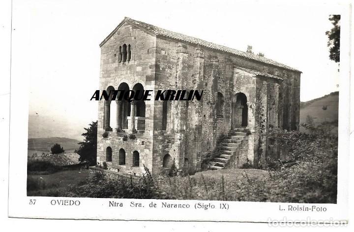 OVIEDO Nº 37 NTRA. SRA. DE NARANCO .- FOTO L. ROISIN (Postales - España - Asturias Moderna (desde 1.940))