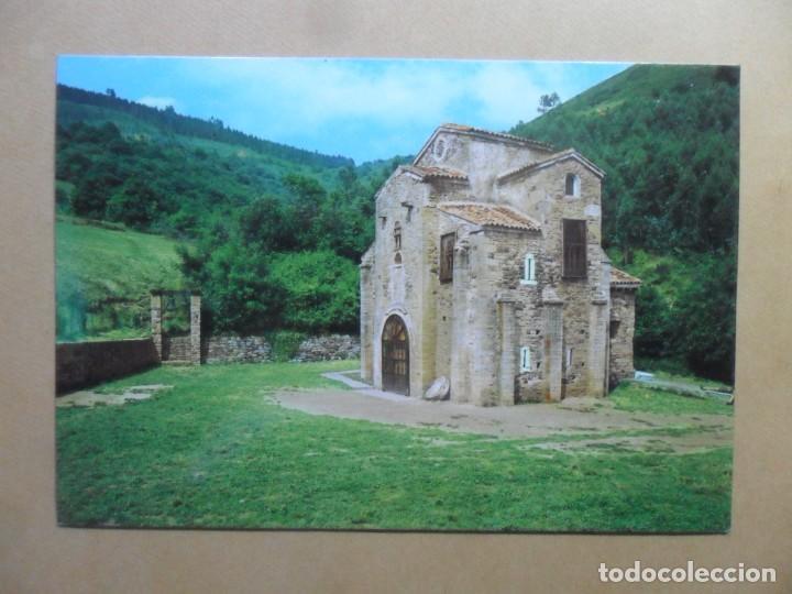 POSTAL - 41 - OVIEDO (ASTURIAS) - SAN MIGUEL DE LILLO (MTO. NACIONAL, SIGLO IX) - ED. ALARDE (Postales - España - Asturias Moderna (desde 1.940))