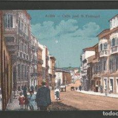 Postales: AVILES-CALLE JOSE M.PEDREGAL-VER REVERSO-(60.885). Lote 169450048