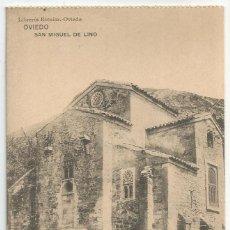 Postales: POSTAL DE ASTURIAS LIBRERIA ESCOLAR OVIEDO-FOT HAUSER Y MENET-SAN MIGUEL DE LINO -SIN CIRCULAR. Lote 169601640