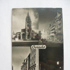 Postales: OVIEDO AÑOS 60 EDICIONES ARTIGOT ZARAGOZA. Lote 169619828