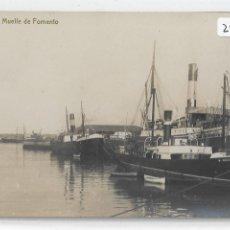 Postales: GIJÓN - DEMUELLE DE FOMENTO - VENTA EN EL BAZAR PALACIOS Y LIBRERÍA MANSO - P29071. Lote 170018480