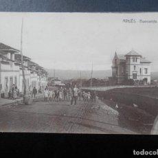 Postales: AVILÉS ASTURIAS BUENAVISTA POSTAL ANTIGUA. Lote 170531664