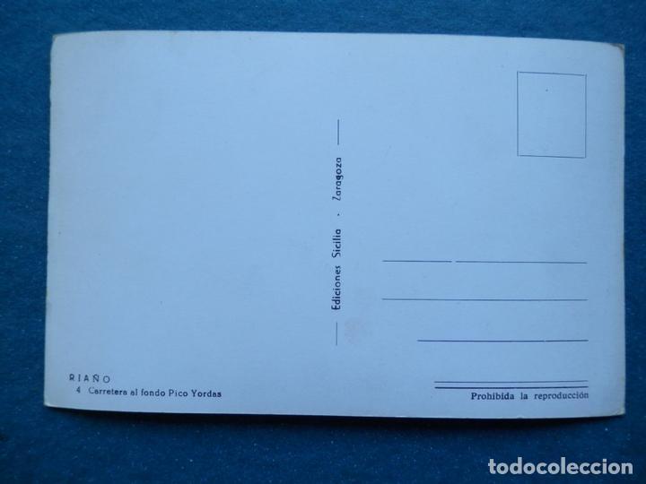 Postales: RIAÑO CARRETERA POSTAL FOTOGRÁFICA ANTIGUA EDICIONES SICILIA - Foto 2 - 170532372