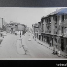 Postales: SAMA DE LANGREO AVENIDA DE OVIEDO POSTAL FOTOGRÁFICA ANTIGUA. Lote 170532416