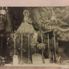 Postales: POSTAL FOTOGRAFICA DE LA VIRGEN DE COVADONGA. Lote 170881335