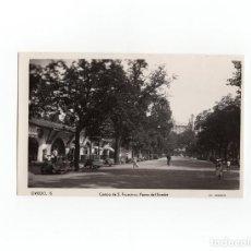Postales: OVIEDO.(ASTURIAS).- CAMPO DE SAN FRANCISCO. PASEO DEL BOMBÉ.. Lote 170979507