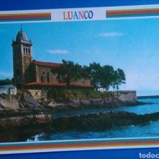 Postales: POSTAL 8 ASTURIAS LUANCO IGLESIA DEL CABILDO ED ARRIBAS. Lote 170981398
