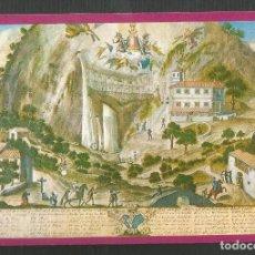 Postales: POSTAL SIN CIRCULAR - LA SANTA CUEVA N-473 ANTES DEL INCENDIO DEL AÑO 1777 - EDITA ALCE. Lote 170982847