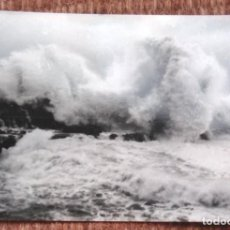 Postales: LLANES - TEMPORAL EN LA COSTA - ED. A. MAYA. Lote 171085554