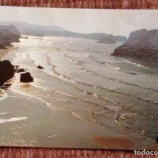 Postales: POO DE LLANES - PLAYA DE SAN MARTIN. Lote 171085800