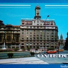 Postales: POSTAL 41 OVIEDO PLAZA LA ESCANDALERA EDICIONES ARRIBAS. Lote 171139433