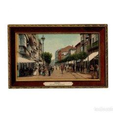 Postales: GIJÓN.(ASTURIAS).- ENTRADA AL BOULEVARD. ED. BENIGNO FERNÁNDEZ. FIESTAS 1910. SEMANA DE LA AVIACIÓN.. Lote 171186262