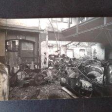 Postales: OVIEDO ASTURIAS SUCESOS DE OCTUBRE DE 1934 GARAJE ESPAÑA POSTAL FOTOGRAFICA. Lote 171638758