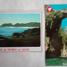 Postales: 2 POSTALES PICOS DE EUROPA AÑOS 80 SIN CIRCULAR. Lote 171674619