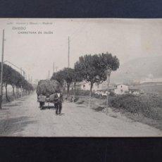 Postales: OVIEDO ASTURIAS CARRETERA DE GIJON. Lote 171770714