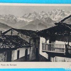 Postales: POTES Y LOS PICOS DE EUROPA. FOTO E. BUSTAMANTE. Lote 172430144
