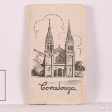Postales: TACO DE 10 POSTALES PEQUEÑAS - COVADONGA - ED. GARCÍA GARRABELLA. Lote 172499670