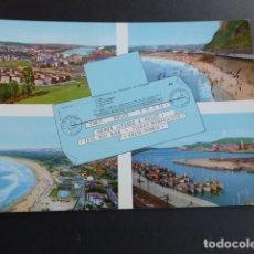 Postales: AVILES ASTURIAS VARIAS VISTAS. Lote 173447540