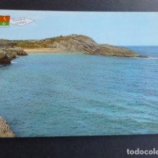Postales: LLANES ASTURIAS PLAYA DEL SABLON. Lote 173447569