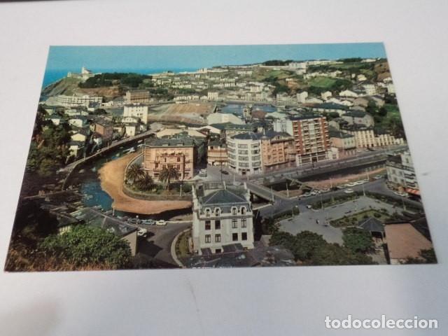 ASTURIAS - POSTAL LUARCA - VISTA PARCIAL (Postales - España - Asturias Moderna (desde 1.940))