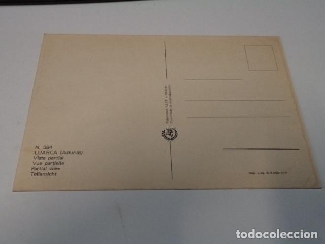Postales: ASTURIAS - POSTAL LUARCA - VISTA PARCIAL - Foto 2 - 173587575
