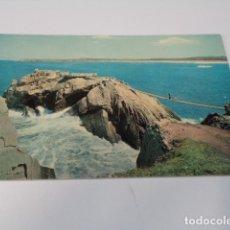 Postales: ASTURIAS - POSTAL SALINAS - PUENTE COLGANTE. Lote 173588835