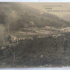 Postales: TRUBIA VISTA GENERAL FABRICA DE ARMAS. Lote 173959204
