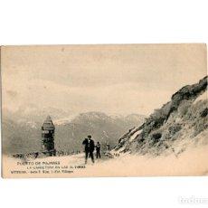 Postales: PUERTO DE PAJARES.(ASTURIAS).- LA CARRETERA EN LAS ALTURAS.. Lote 174620512