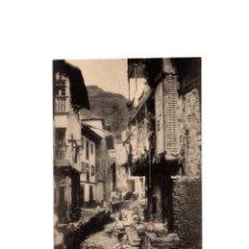 Postales: CUDILLERO.(ASTURIAS).- UNA CALLE.. Lote 175012212