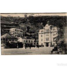 Postales: LUARCA.(ASTURIAS).- PARQUE Y CASA AYUNTAMIENTO.. Lote 175295070