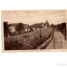 Postales: LLANES.(ASTURIAS).- CALLE DE ROMAN ROMANOS Y PASEO DE HERRERA.. Lote 175298689