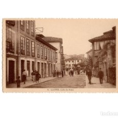Postales: LLANES.(ASTURIAS).- CALLE DE PIDAL.. Lote 175298784