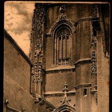 Postales: TARJETA POSTAL DE OVIEDO:.LA CATEDRAL, PUERTA DEL PÓRTICO./ GRAFOS. MADRID./ 25-11-1925. Lote 175554574