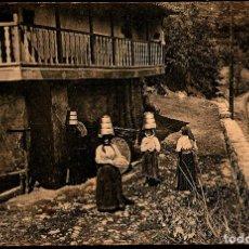 Postales: TARJETA POSTAL DE OVIEDO:.ALDEA./ GRAFOS. MADRID./ 8-12-1925.. Lote 175554812