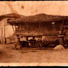 Postales: TARJETA POSTAL DE ARRIONDAS: HORREO DE LA PERUYAL./ MUMBRÚ-BARCELONA./ SIN ESCRIBIR, AÑOS 20.. Lote 175555439