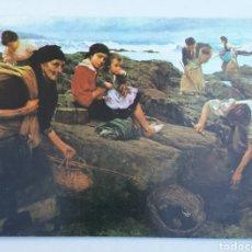 Cartes Postales: GIJON - NO. 3 VENTURA ALVAREZ-SALA VIGIL. PESCADORAS DE MARISCO. Lote 175896587