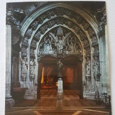 Postales: OVIEDO PORTICO CAPILLA REY CASTO POSTAL. Lote 176092630