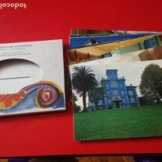 Postales: ESTUCHE CON 12 POSTALES DE LA QUINTA GUADALUPE. ARCHIVO DE INDIANOS. COLOMBRES. ASTURIAS. Lote 176893738