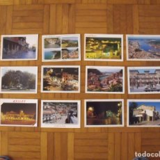 Postales: LOTE 12 POSTALES ASTURIAS. CUDILLERO Y AVILÉS. BUEN ESTADO. 10X15 CM. . Lote 176896953