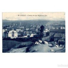 Postales: OVIEDO.(ASTURIAS).- CAMINO DE SAN MIGUEL DE LILLO.. Lote 177310487