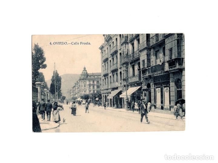 OVIEDO.(ASTURIAS).- CALLE FRUELA. (Postales - España - Asturias Antigua (hasta 1.939))