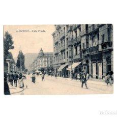 Postales: OVIEDO.(ASTURIAS).- CALLE FRUELA.. Lote 177311402