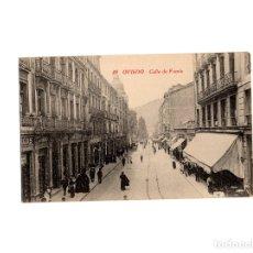 Postales: OVIEDO.(ASTURIAS).- CALLE FRUELA.. Lote 177414915